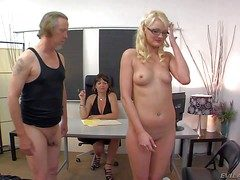 Slender innocent looking lap blonde spoil Zoe Paige with compacted
