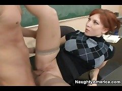 Redhead cram hither sweater fucked hardcore