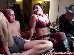 Real dutch prostitute slut gets fucked roughly doggystyle