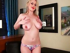 Brook Transitory on touching big melons plus