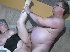Chubby Grannma and her gf Plumper Nurse have big fun