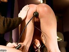 Hardcore and ot BDSM have a passion with a gung-ho babe whose name is Melanie Memphis